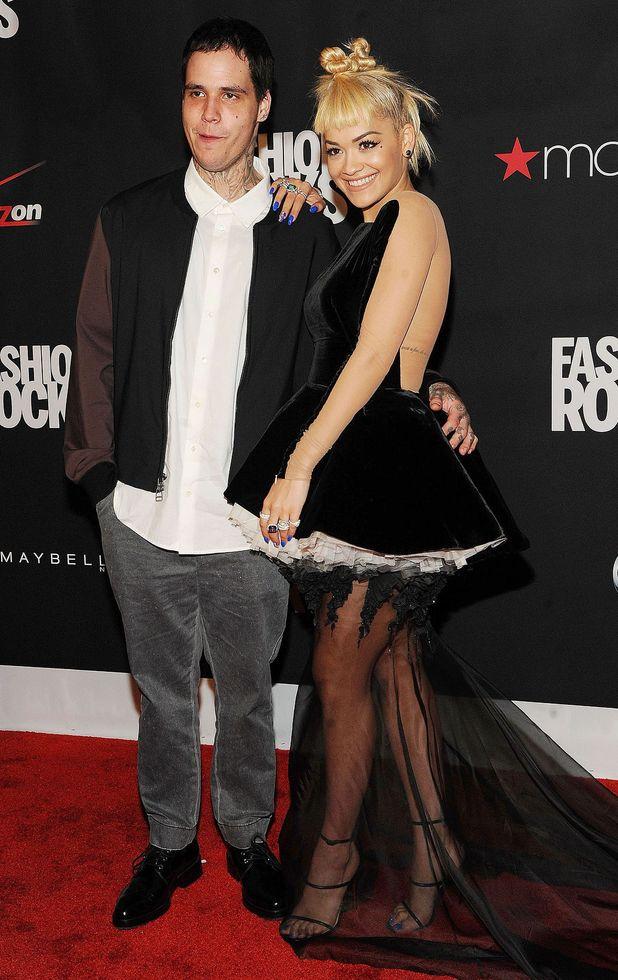 Ricky Hilfiger and Rita Ora at Fashion Rocks, New York, America - 09 Sep 2014 Three Lions Entertainment Presents Fashion Rocks 2014 - Arrivals