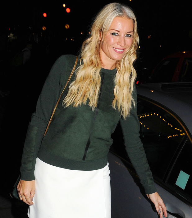 Denise Van Outen out and about, London, Britain - 04 Sep 2014