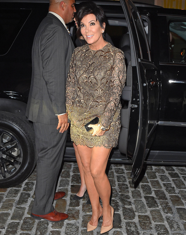 Kris Jenner is seen on September 10, 2014 in New York City. (Photo by NCP/Star Max/GC Images)