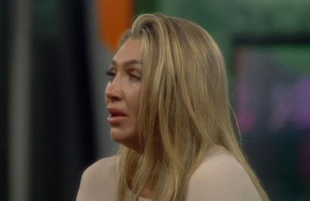 Lauren Goodger cries on CBB as she admits she isn't over her ex, 9 September 2014