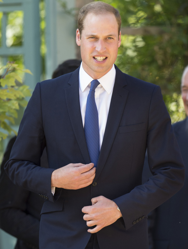 Prince William, Duke of Cambridge during a visit to formally open The Dickson Poon University of Oxford China Centre Building on September 8, 2014 in Oxford, England. (Photo by Mark Cuthbert/UK Press via Getty Images)
