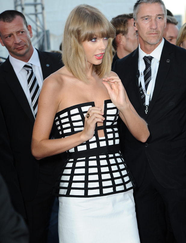 Taylor Swift at Deutscher Radiopreis 2014 (German radio award 2014) at Schuppen 52, Germany, 4 September 2014