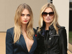 Cara Delevingne is working tailored chic at fashion month-get the look!