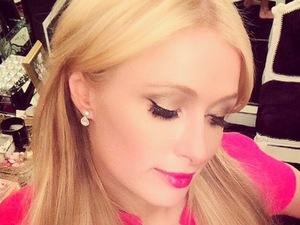Paris Hilton rocks super-bright Barbie pink lips - get the look