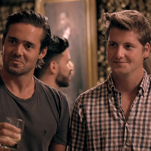 Made In Chelsea NYC: Spencer Matthews and Stevie Johnson in New York - 27 Aug 2014