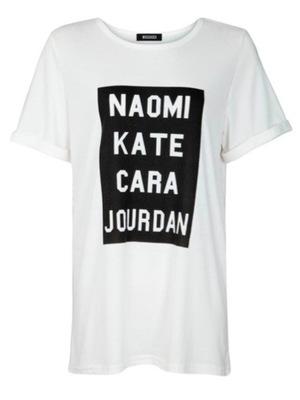 Jourdan Supermodel Boyfriend T-shirt, £9.99, Missguided.co.uk