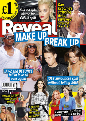 Reveal magazine front cover, week, 37, 2014