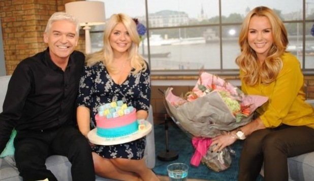 Holly Willoughby has last show on This Morning before maternity leave, ITV Studios, London 18 September