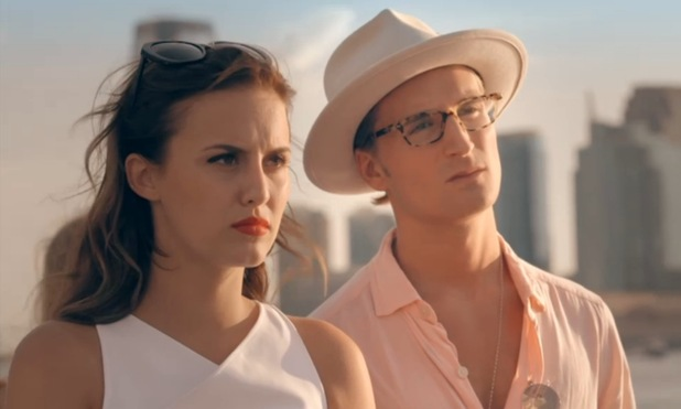Made In Chelsea: NYC Lucy Watson, Oliver Proudlock defend their kiss to Jamie Laing - 14 September 2014.