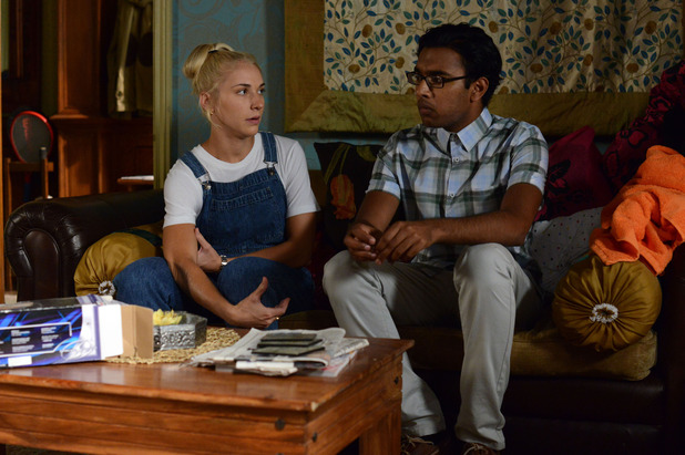 EastEnders, Nancy talks to Tamwar, Thu 18 Sep