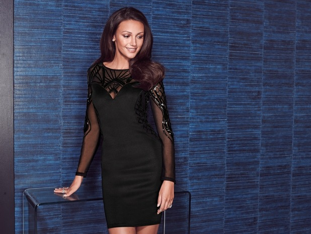 Michelle Keegan models her winter '14 clothing collection for Lipsy - 16 September 2014
