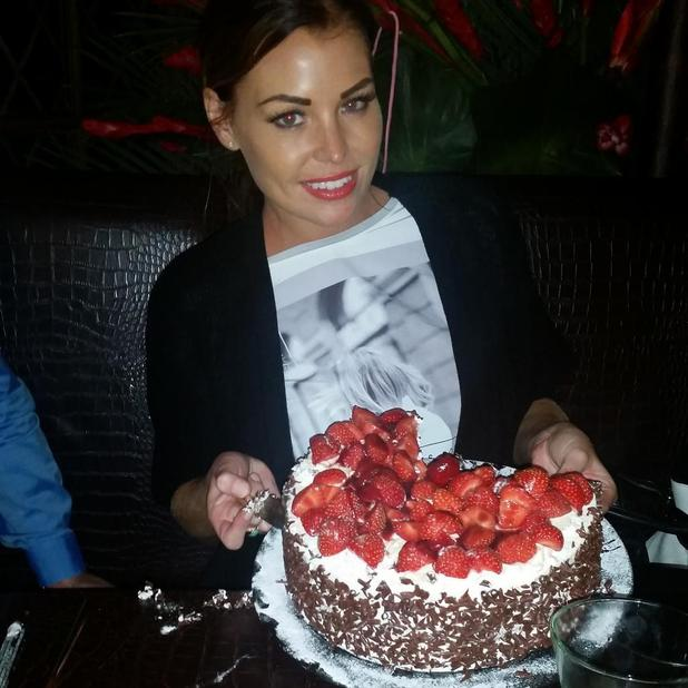 TOWIE's Jessica Wright continues birthday celebrations with friends and family for dinner in Essex - 17 September.