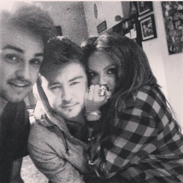 Little Mix's Jesy Nelson looking stunning, pictured with rumoured new beau Jake Roche, 06 September 2014