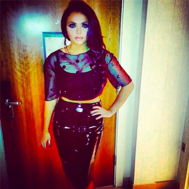 Little Mix's Jesy Nelson looking stunning, pictured by rumoured new beau Jake Roche, 06 September 2014
