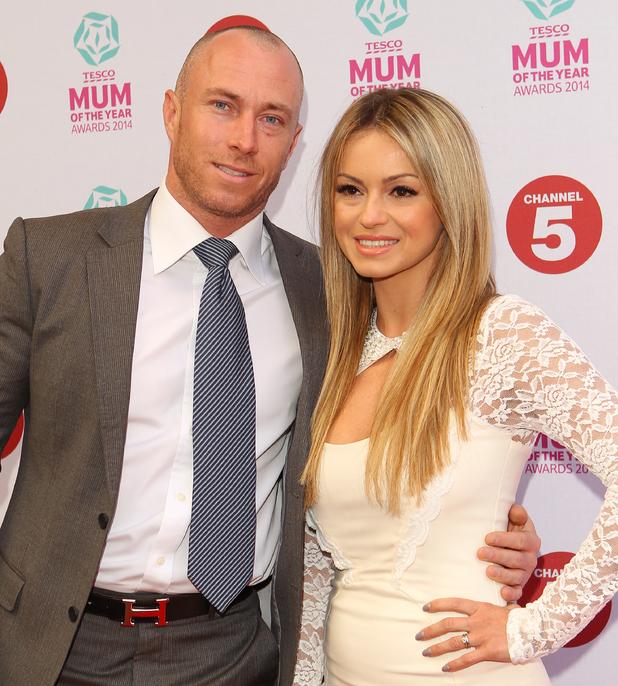Tesco Mum of the Year Award, red carpet arrivals at The Savoy in London - James Jordan and Ola Jordan - 23/013//2014.