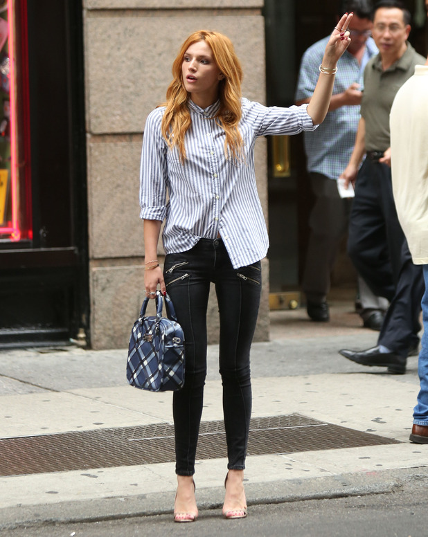 Bella Thorne out in New York, America - 12 September 2014
