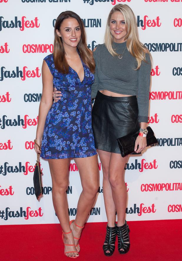 Lucy Watson and Stephanie Pratt at Cosmopolitan #FashFest event at Battersea Evolution, London 18 September