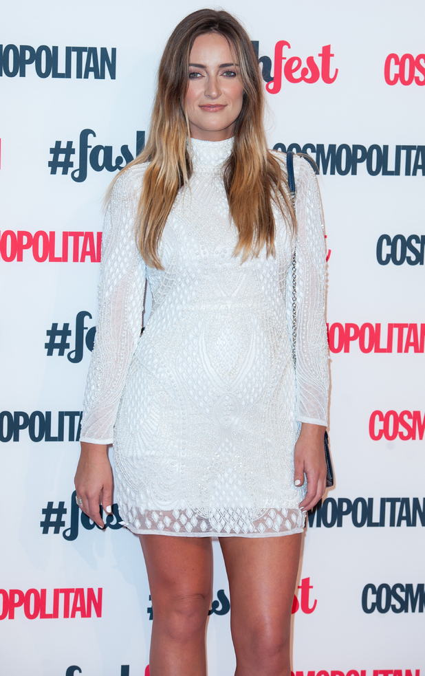 Fran Newman-Young attends the Cosmopolitan FashFest in Battersea, London - 18 September 2014
