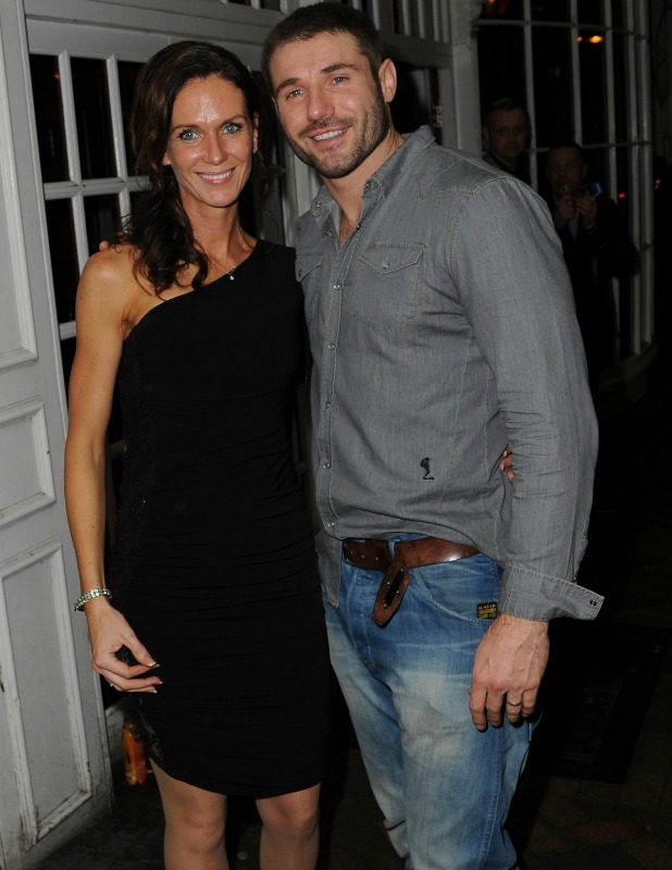 Ben and Abby Cohen at the Strictly Come Dancing After Party at Roxy's Blackpool, 2013