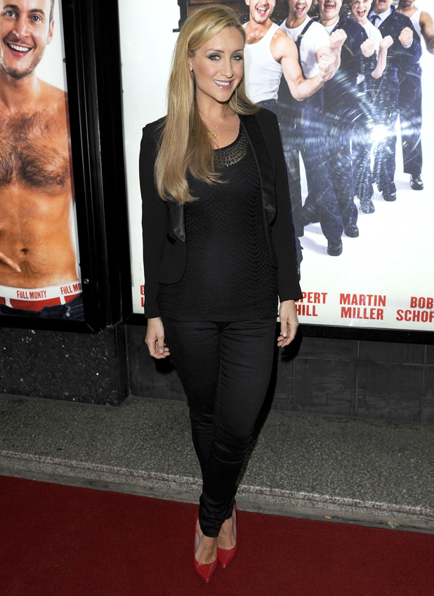 Catherine Tyldesley, 'The Full Monty' play press night, Manchester, Britain - 15 Sep 2014