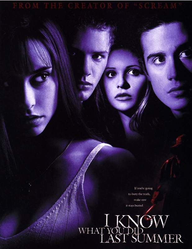 I KNOW WHAT YOU DID LAST SUMMER, film poster - 1997 POSTERS