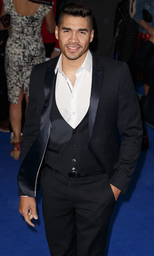 Louis Smith at UK Premiere of 'X-Men: Days Of Future Past' held at the Odeon Leicester Square - Arrivals, 2014