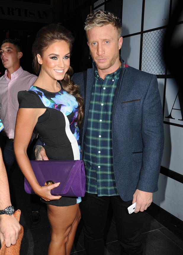 Vicky Pattison and boyfriend James Morgan, Manchester 18 September