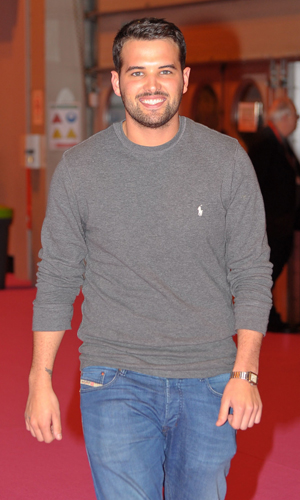 Ricky Rayment at Clothes Show Live at Birmingham's NEC - Day 3, December 2013