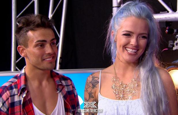 X Factor's Yo Preston and Orla Keogh, September 2014