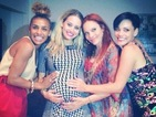 Pregnant Kimberly Wyatt reunites with the Pussycat Dolls in Los Angeles