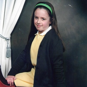 Holly Hagan when she was little in primary school 24 September