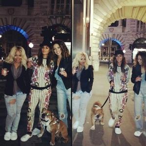 Nicole Scherzinger goes for a walk around London after secret gig - 21 September.
