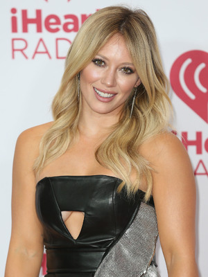 Hilary Duff attends iHeartRadio Music Festival 2014 at the MGM Grand Garden Arena, Las Vegas 21 September