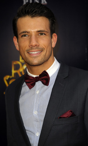 Hollyoaks Danny Mac - Dirty Rotten Scoundrels Press Night after party at The Savoy Hotel, London 2 April