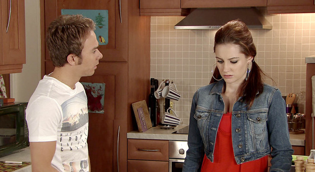 Corrie, David catches Kylie out, Mon 29 Sep