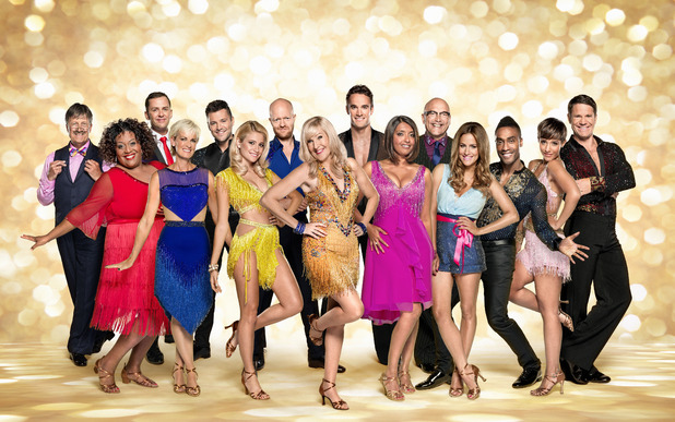 Strictly Come Dancing, full cast shot, Sat 27 Sep