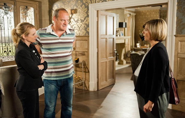 Emmerdale, Jimmy's got another woman pregnant, Mon 29 Sep
