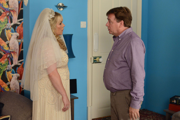 EastEnders, Ian tries to talk Sharon out of the wedding, Mon 29 Sep