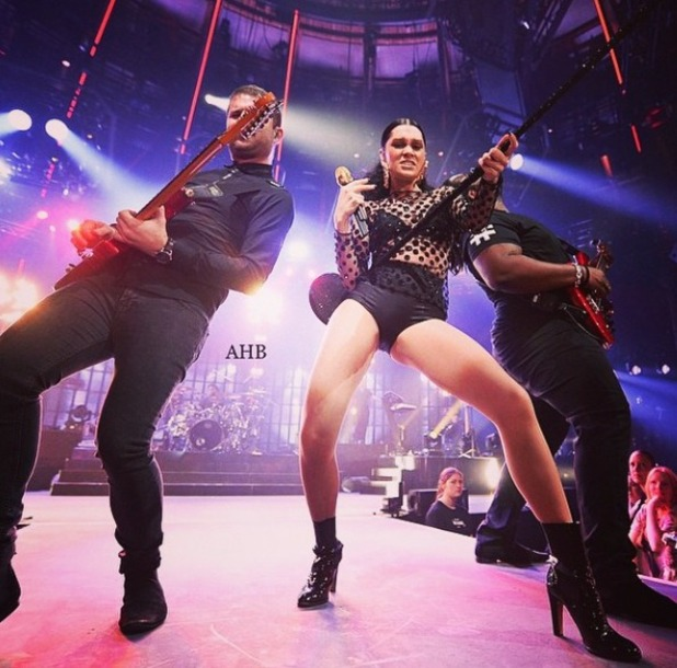 Jessie J performs at itunes music festival in London, 23 September