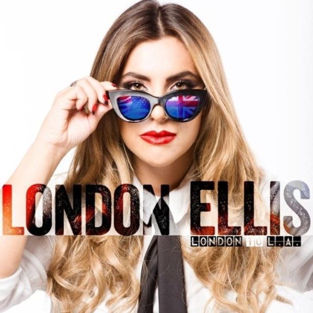 Gabriella Ellis - aka London Ellis - 'London to LA' cover - 16 July 2014.