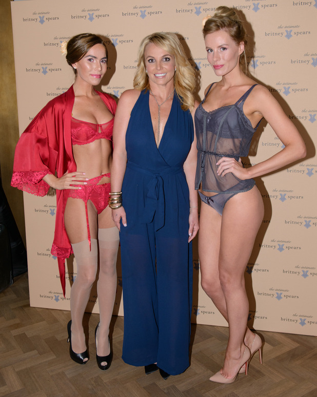 Britney Spears launches her lingerie collection, The Intimate Britney Spears, in London, England - 23 September 2014