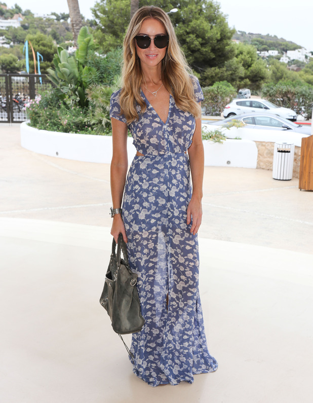 Lauren Pope, The Only Way is Essex cast arrivals at Mercedes Bar, Ibiza, Spain 21 September
