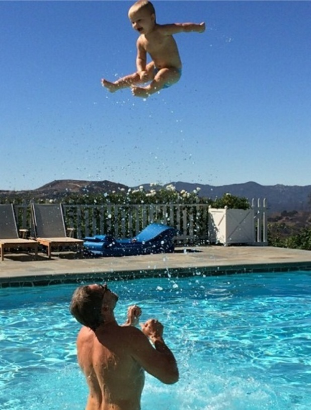 Jessica Simpson shares family photo of Eric Johnson and their son Ace 23 September