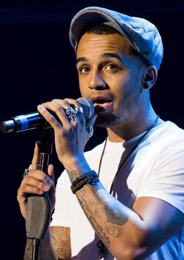 Aston Merrygold performs at the Rays of Sunshine charity concert at Royal Albert Hall on May 4, 2014 in London, England.