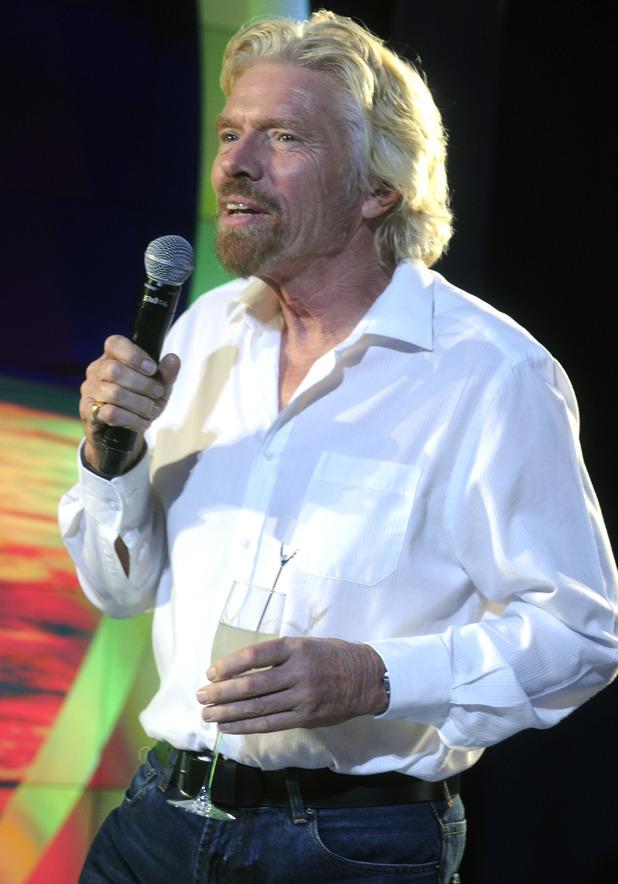 Sir Richard Branson at Grey Goose Virgin Atlantic launch
