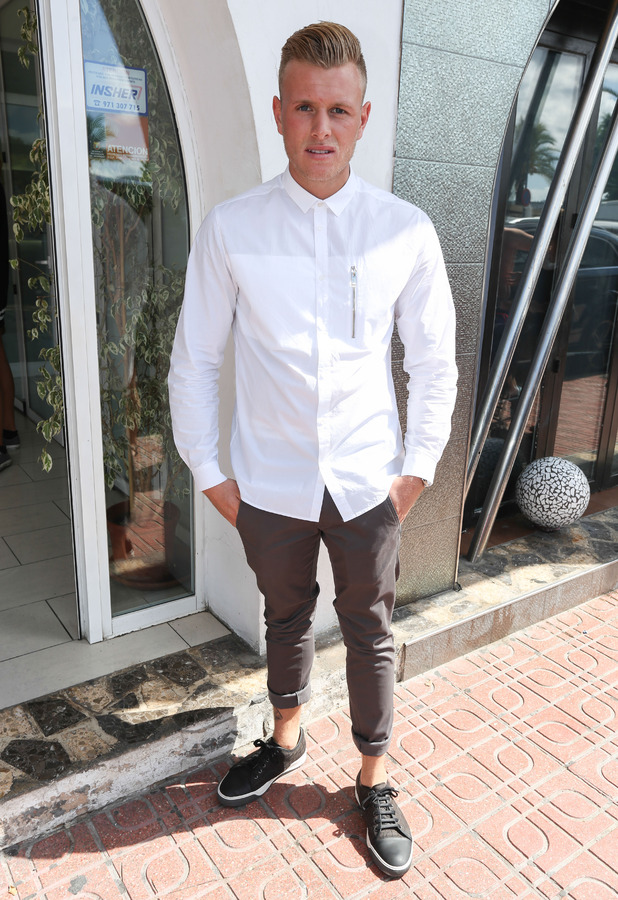 TOWIE introduce new boy to cast, Tommy Mallet, while in Ibiza, Spain 23 September