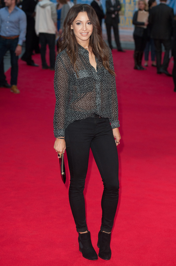 Danielle Peazer attends the premiere for 'What We Did On Our Holiday' in London, England - 22 September 2014