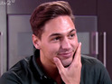 Mario Falcone shows Charlie the house he has rented for his birthday party on 'The Only Way Is Essex', shown on ITV2 HD, 2014