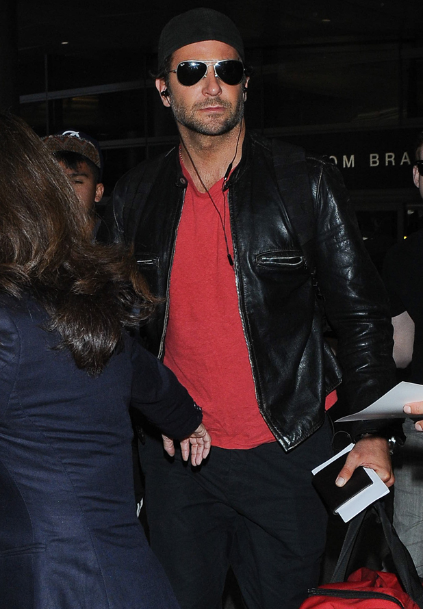 Bradley Cooper seen at LAX on September 23, 2014 in Los Angeles, California. (Photo by GVK/Bauer-Griffin/GC Images)