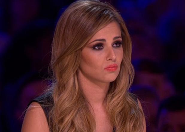 Cheryl Fernandez-Versini isn't impressed as X Factor contestant Raign is auditioning at Wembley Arena, 20 September 2014